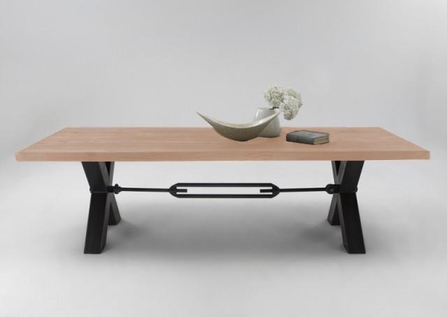 BODAHL Michigan plankebord - White wash 180 x 110 cm