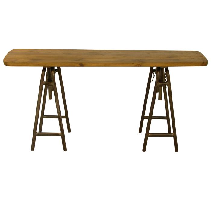 Själsö nordic konsol- eller skrivebord i genbrugstræ