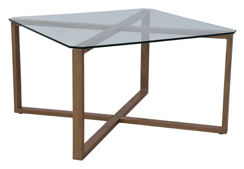 rge – Rge cleo sofabord - glas, kvadratisk fra boboonline.dk