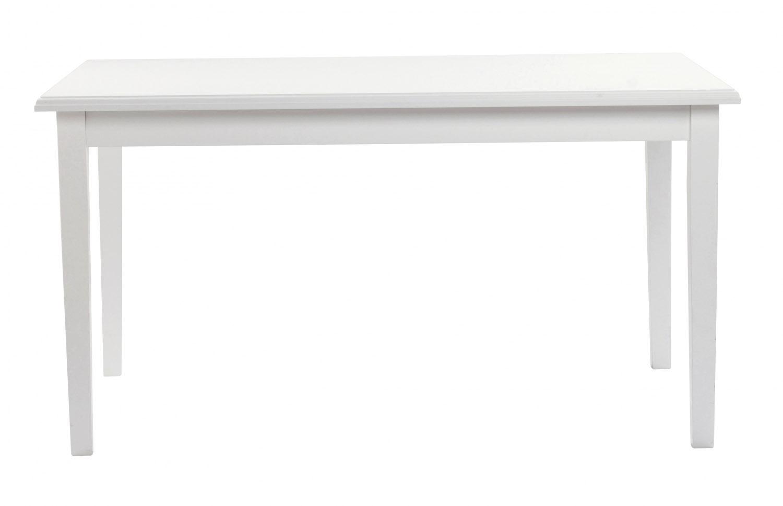 Koster spisebord - hvid m. udtræk (140x100)