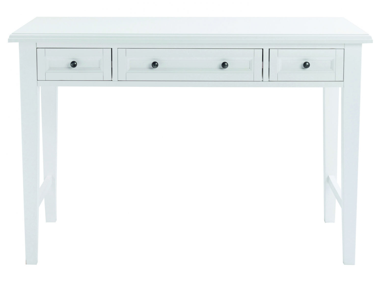 Koster skrivebord - hvid m. 3 skuffer