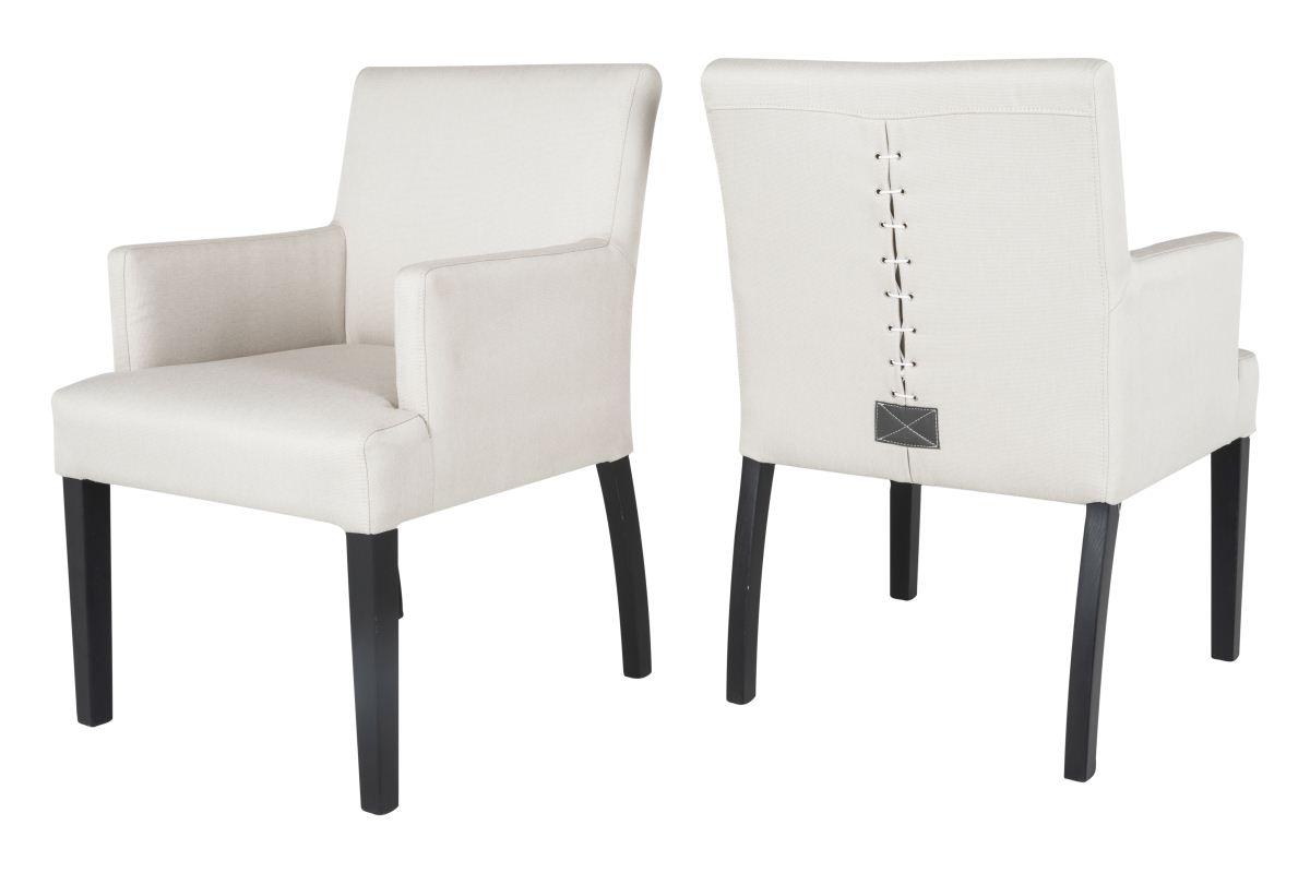canett – Canett matti spisebordsstol m. armlæn - beige fra boboonline.dk
