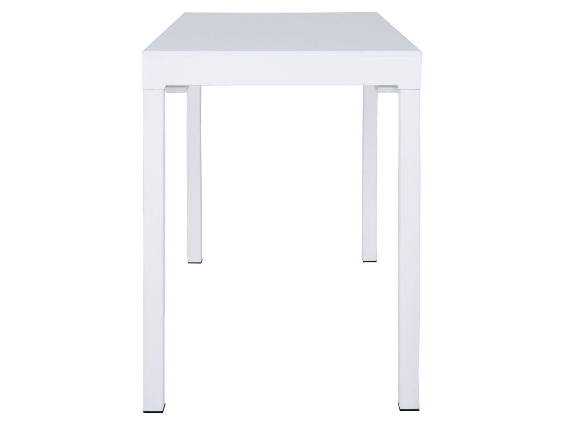 Image of   CANETT Lissabon spisebord - hvid, incl. tillægsplade