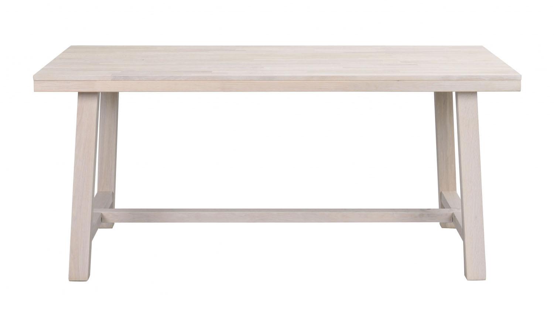 Image of   Brooklyn spisebord - hvidpigmenteret eg (170x95)