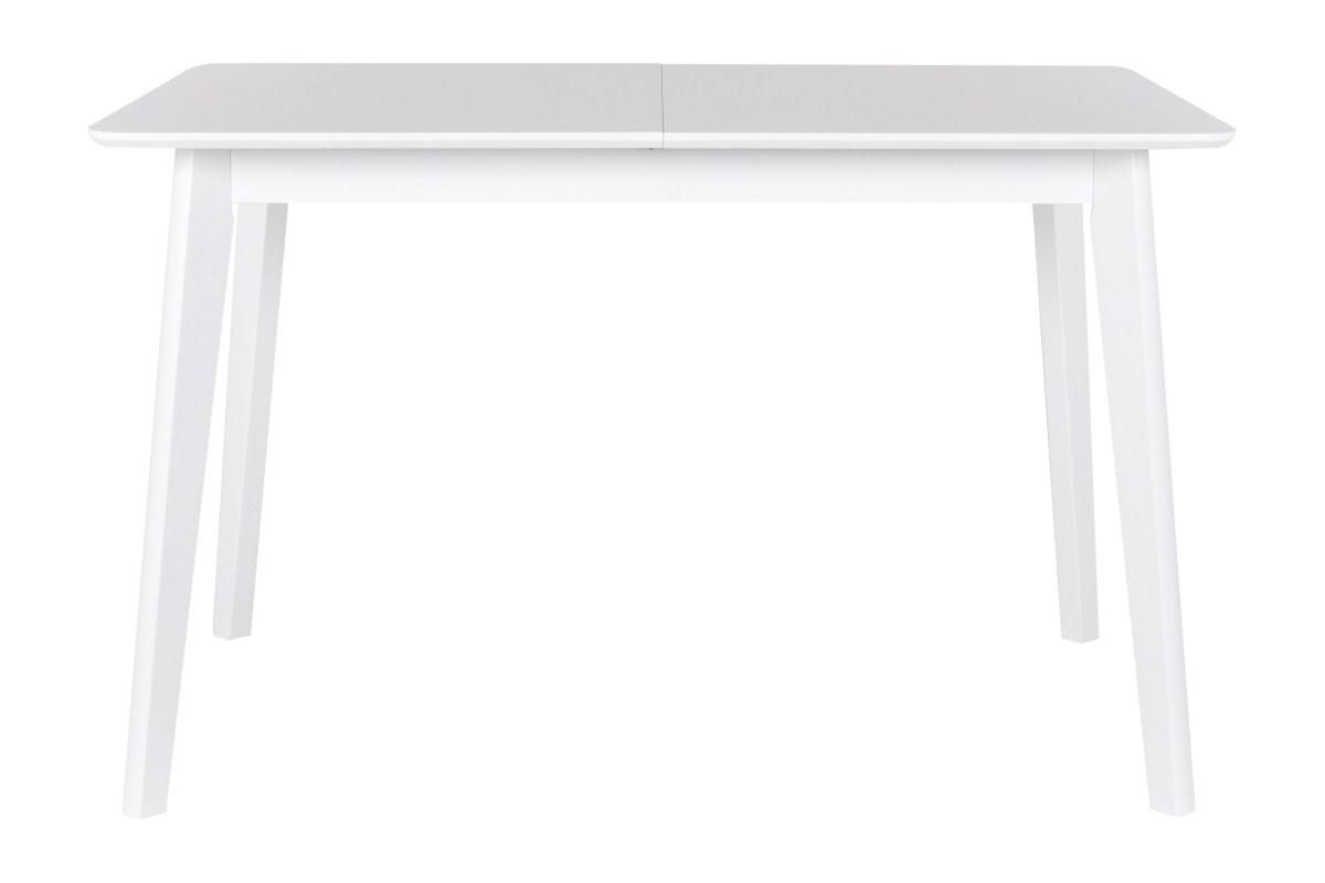 Image of   CANETT Tilde spisebord - hvid, incl. tillægsplade