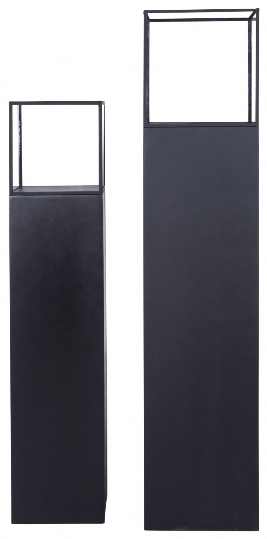 Image of   CANETT Levy lanterne - Sort (Sæt á 2 stk)