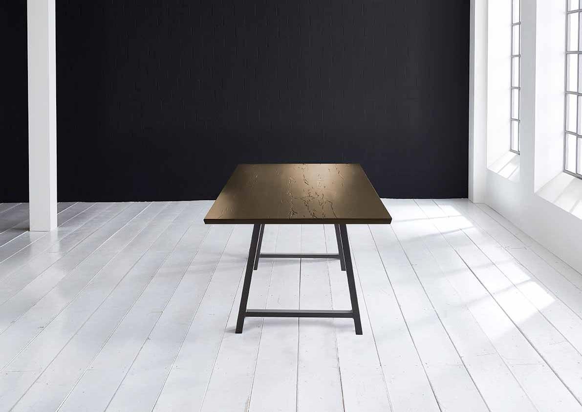 Concept 4 You Plankebord - Schweizerkant med Halo Ben, m. udtræk 6 cm 280 x 110 cm 02 = smoked