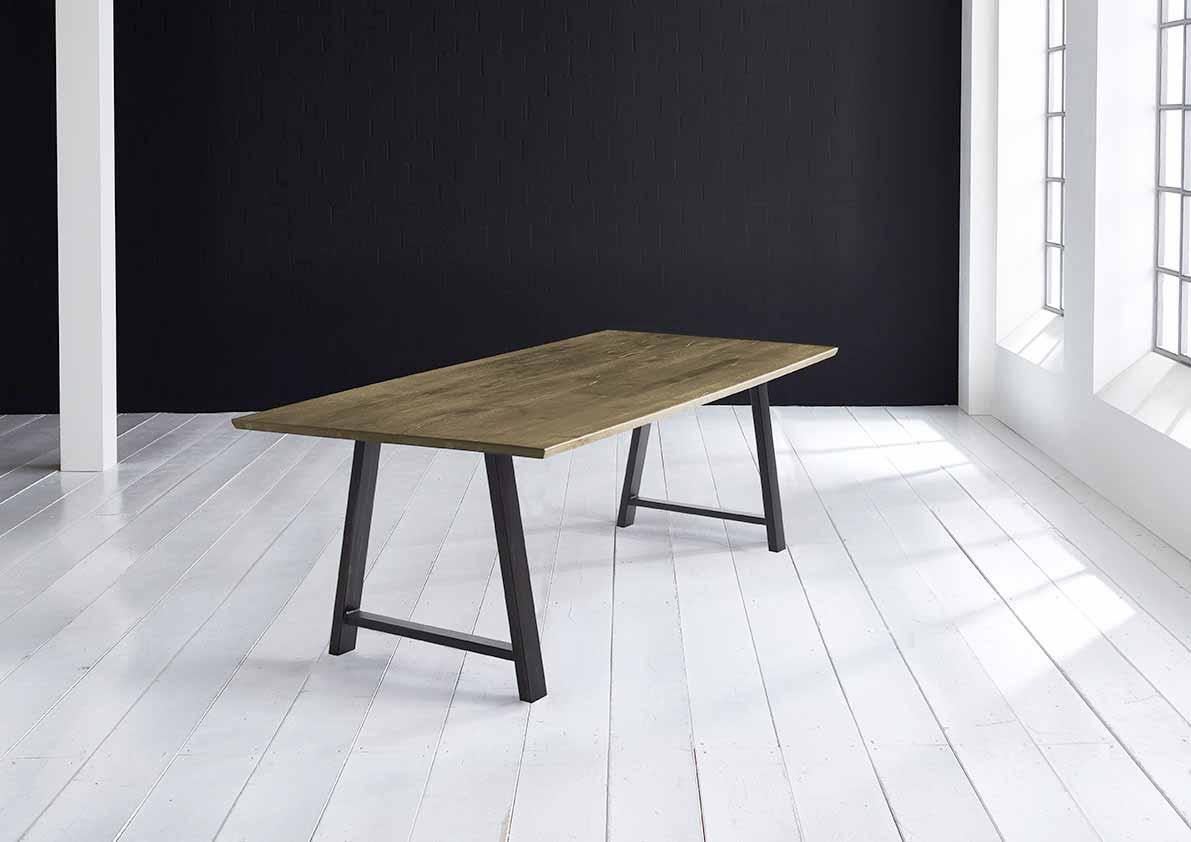Concept 4 You plankebord - eg, m. schweizerkant og Halo Ben, m. udtræk (180-260x100) 3 cm 240 x 100 cm 05 = sand