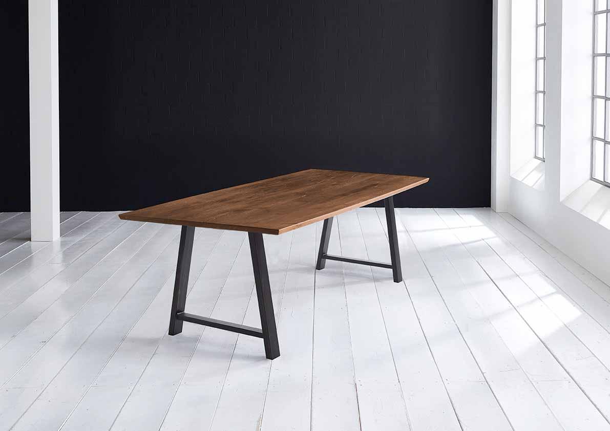 Concept 4 You Plankebord - Schweizerkant med Halo Ben, m. udtræk 3 cm 220 x 100 cm 06 = old bassano