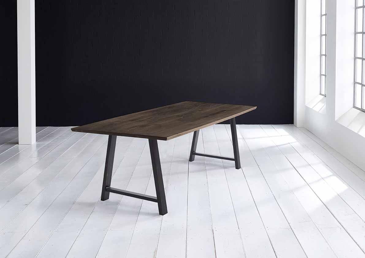 Concept 4 You Plankebord - Schweizerkant med Halo Ben, m. udtræk 3 cm 200 x 100 cm 02 = smoked