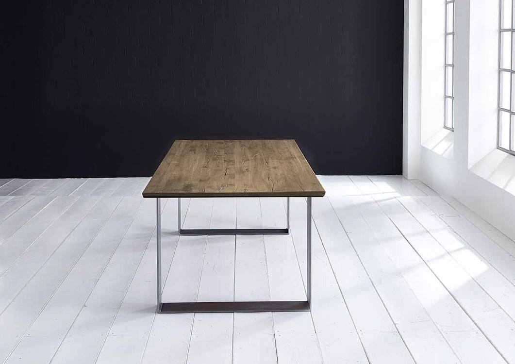 Concept 4 You Plankebord - eg, m. schweizerkant og Houston ben, m. udtræk (180-260x100-110) 3 cm 260 x 100 cm 04 = desert