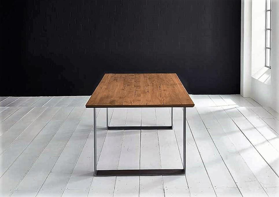 Concept 4 You Plankebord - eg, m. schweizerkant og Houston ben, m. udtræk (180-260x100-110) 3 cm 180 x 100 cm 01 = olie