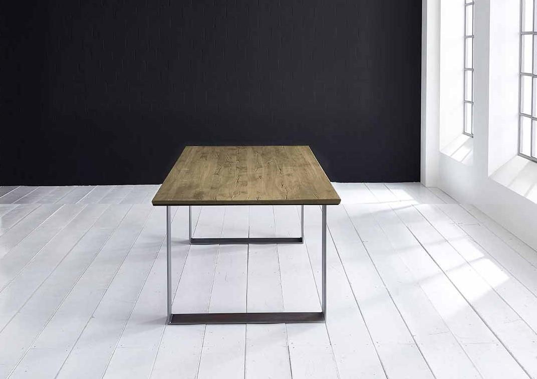 bodahl Concept 4 you plankebord - schweizerkant med houston ben, m. udtræk 3 cm 200 x 100 cm 05 = sand på boboonline.dk