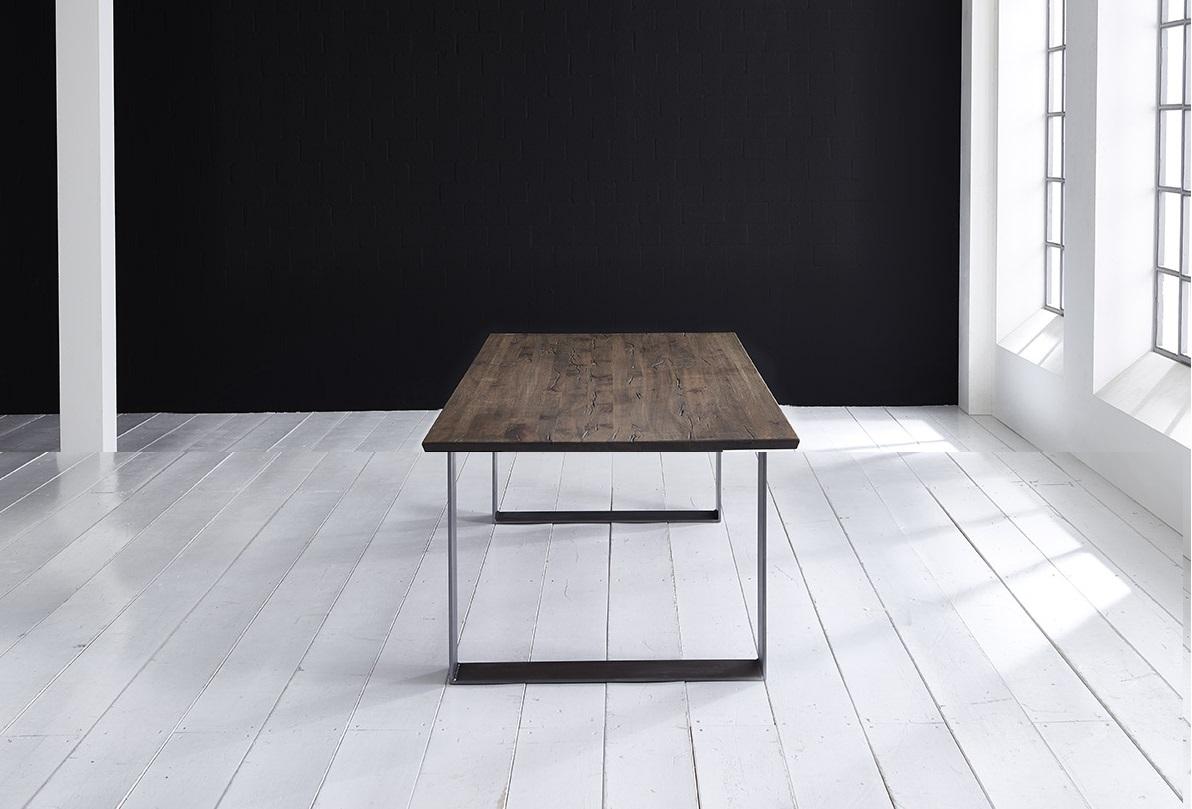Concept 4 You Plankebord - Schweizerkant med Houston ben, m. udtræk 3 cm 240 x 100 cm 02 = smoked