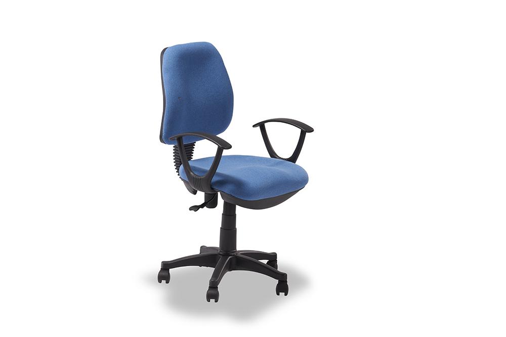 Regal blå kontorstol thumbnail