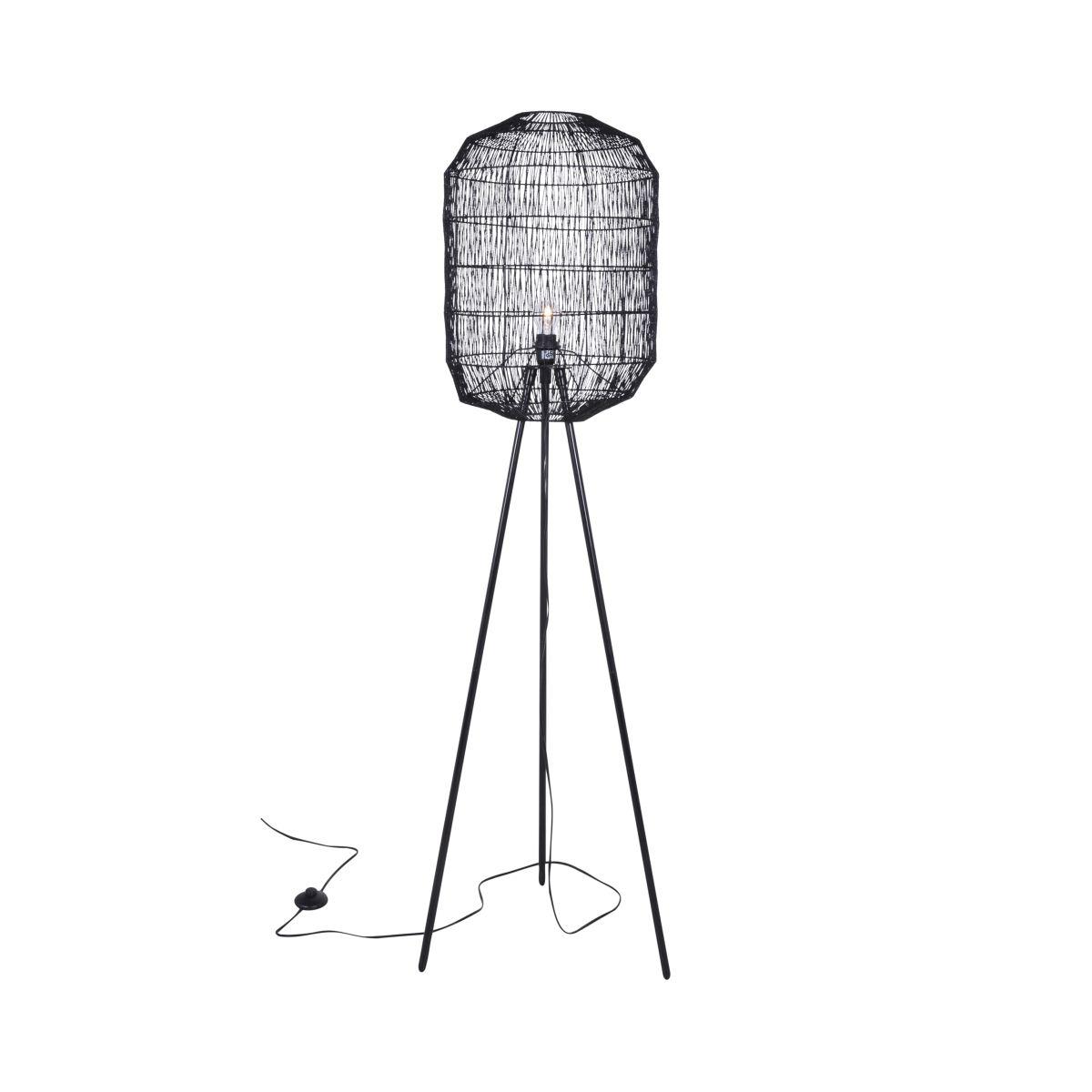 canett – Canett octavio gulvlampe - sort på boboonline.dk
