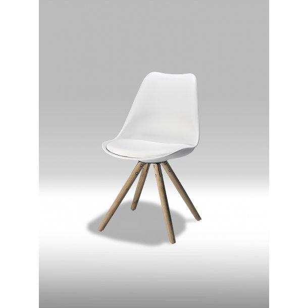 Mille hvid spisebordsstol