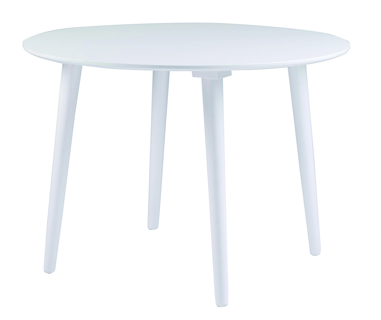Lotta spisebord - hvid, rund (Ø106)
