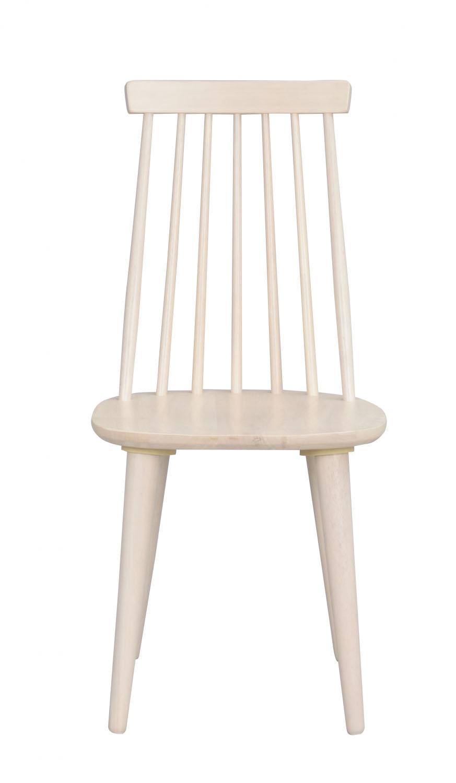 ROWICO Lotta spisebordsstol - hvidolieret træ