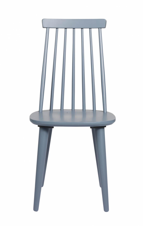 ROWICO Lotta spisestol - lys blå/grå træ
