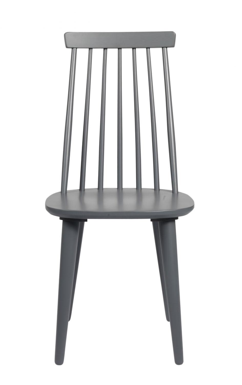 ROWICO Lotta spisebordsstol - grafitgråt træ