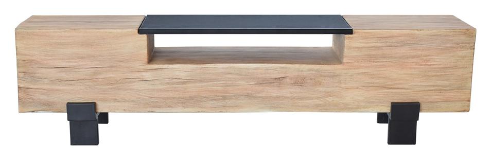 Image of   Big Wood TV-bord i solidt træ - rustikt look