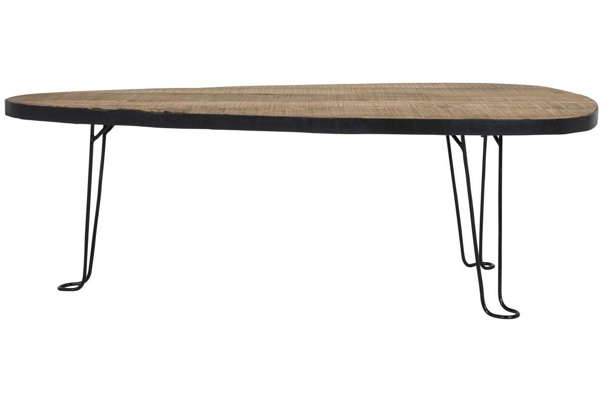 CANETT Blackwood sofabord - Genbrugstræ