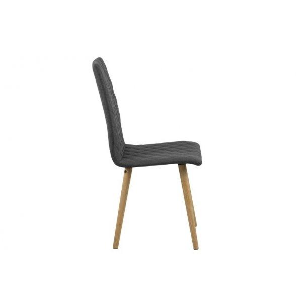 Abna grå spisebordsstol