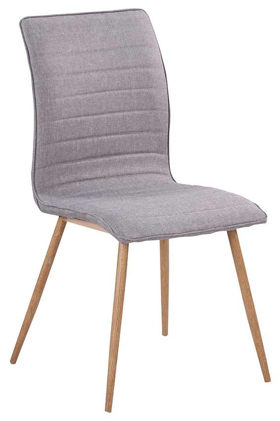 rge Rge robin spisebordsstol - grå stof, uden armlæn på boboonline.dk