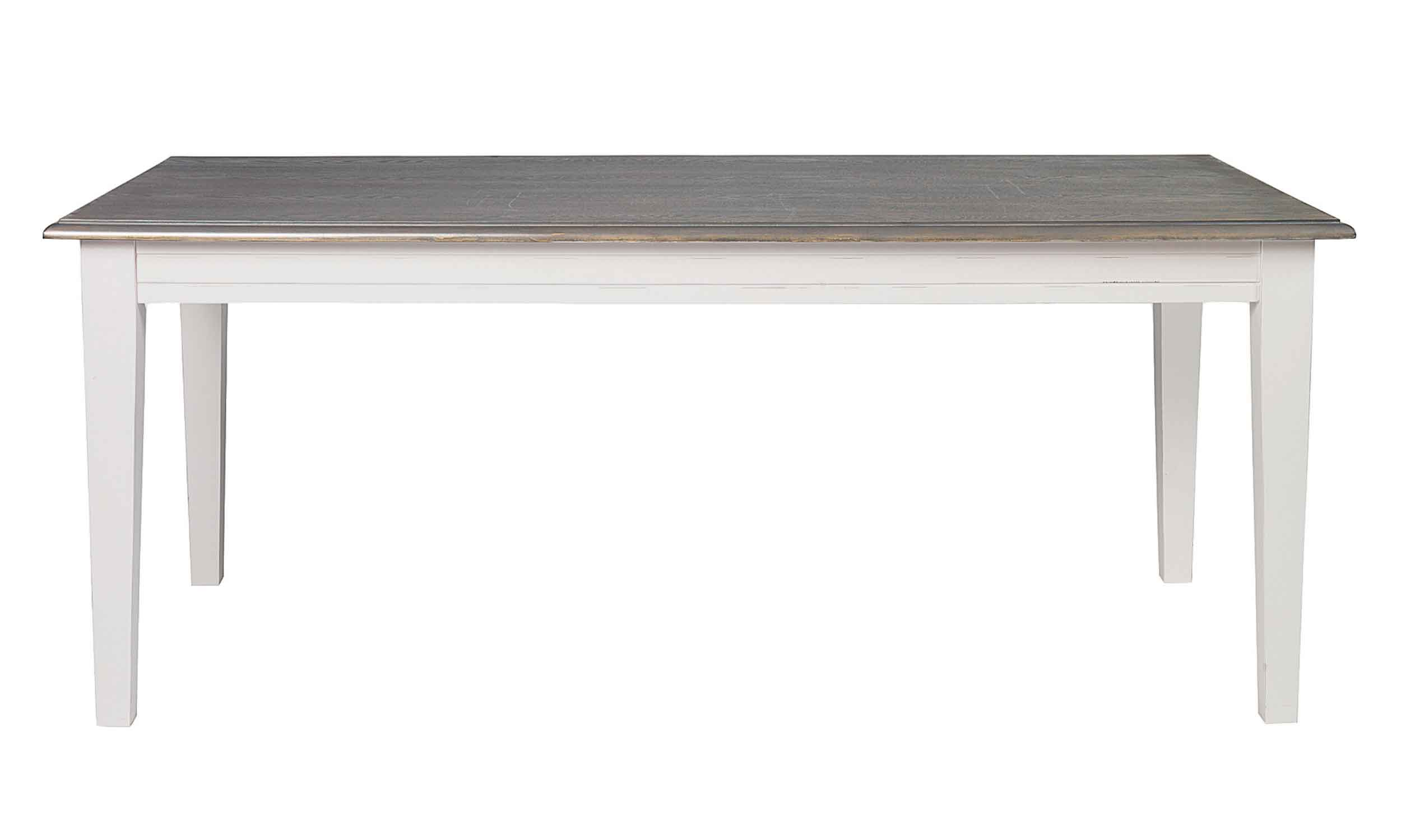 Viktoria spisebord - Grå bordplade, 190x95