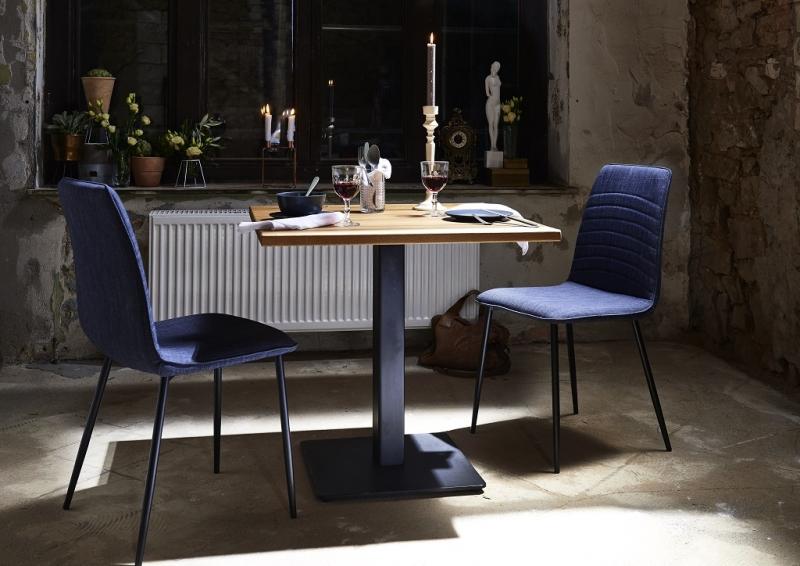 Bodahl nizza bar/køkkenbord - eg (80x80) køkkenbord - 76 cm højde fra bodahl på boboonline.dk