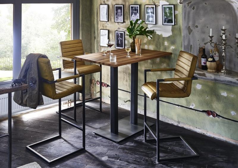 bodahl – Bodahl nizza bar/køkkenbord - eg (120x80) barbord - 105 cm højde fra boboonline.dk