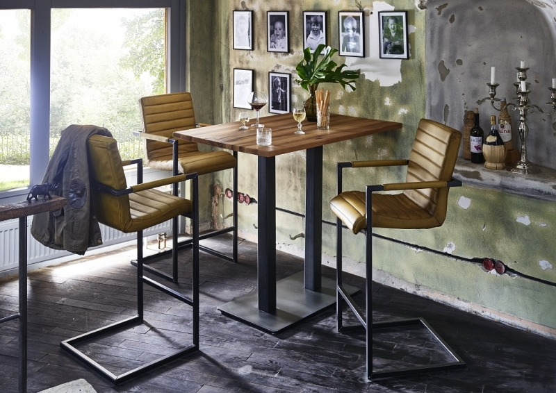 BODAHL Nizza bar/køkkenbord - 120x80 Barbord - 105 cm højde