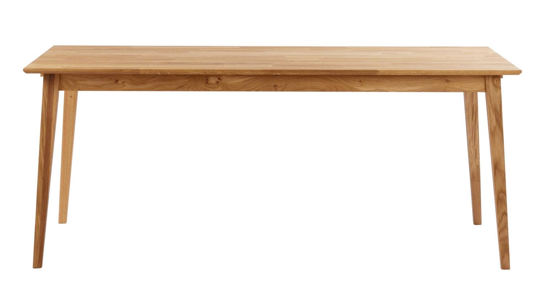 Filippa spisebord - olieret eg, m. udtræk (180x90)