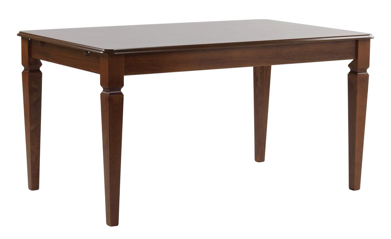 Image of   Amadeus spisebord - valnød m. udtræk (145x90)