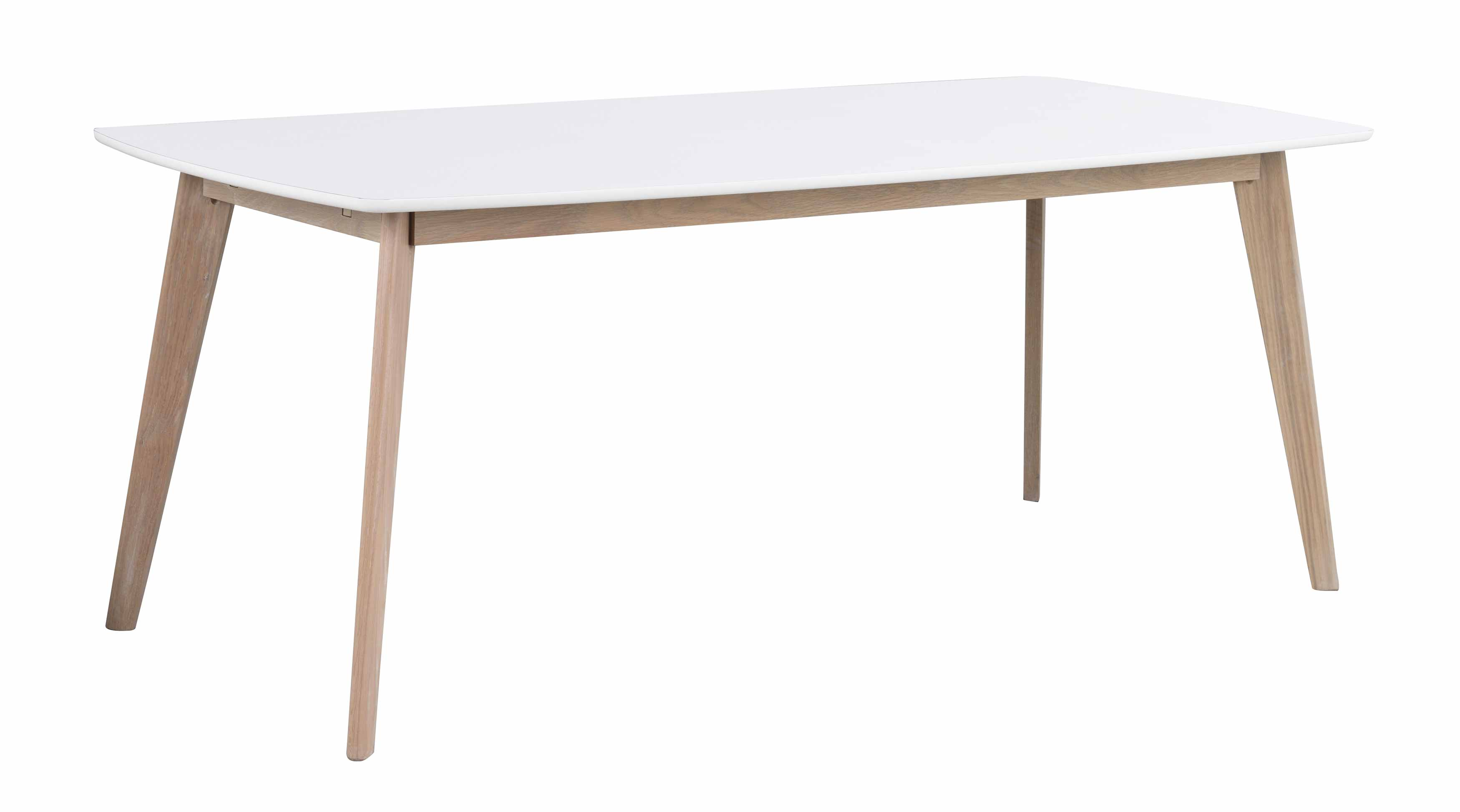 Olivia tillægsplade - Hvid/hvid 45 cm tillæg