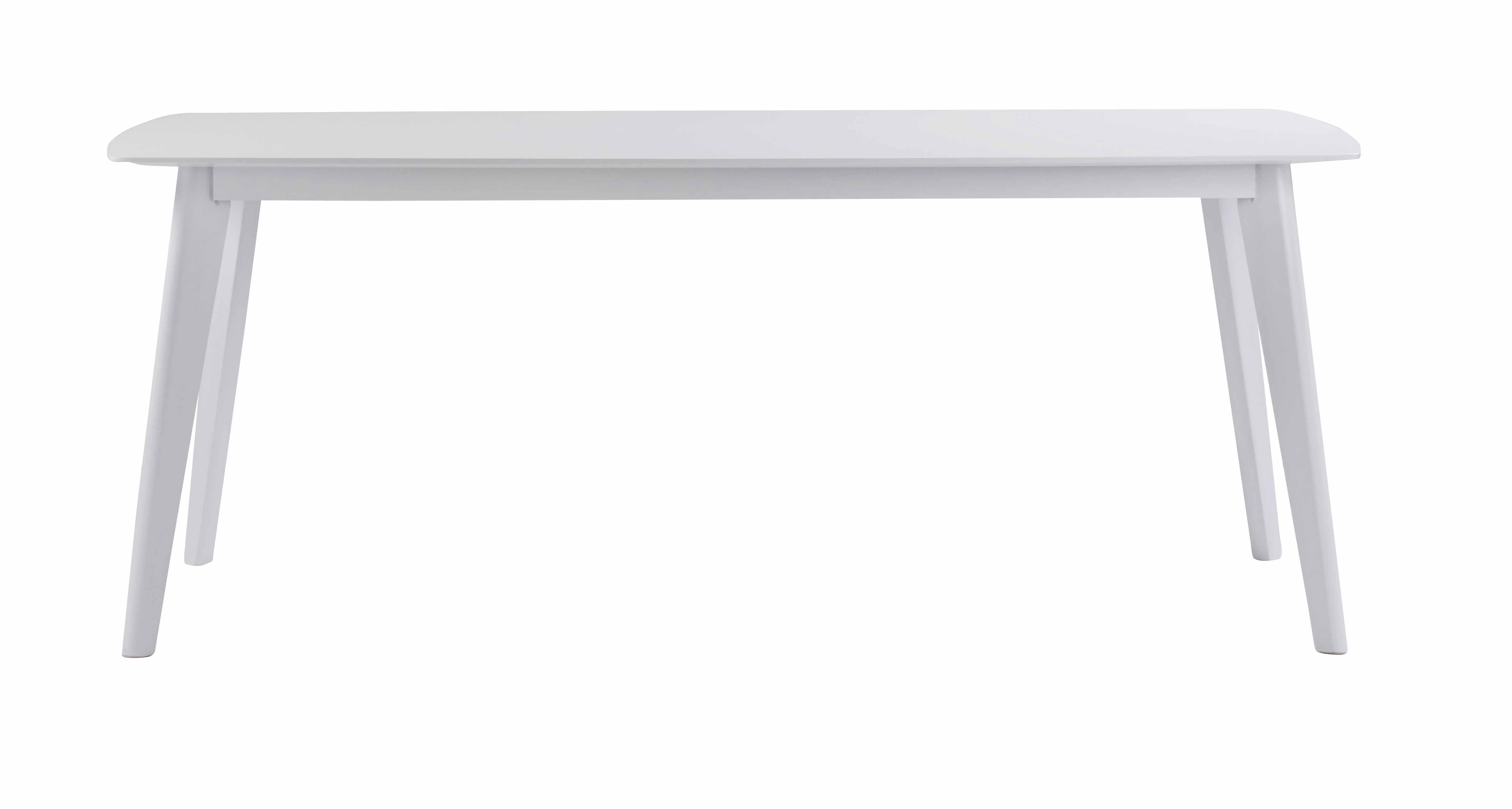 Sanna spisebord - Hvidt egetræ, 190x90