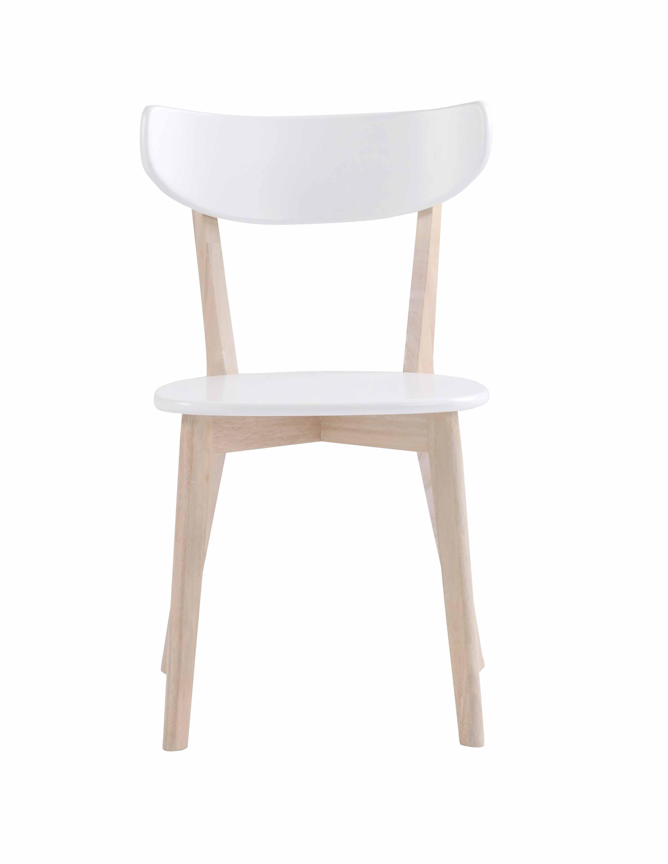 Sanna spisebordsstol - Hvidpigmenteret egetræ