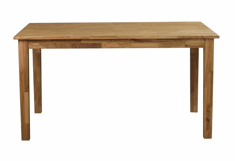 Linus spisebord - massiv eg m. udtræk (140x90)