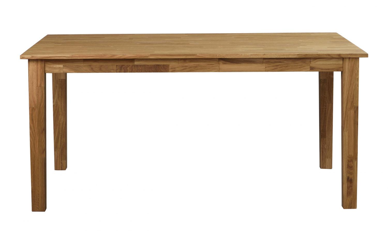 Linus spisebord - massiv eg m. udtræk (180x90)