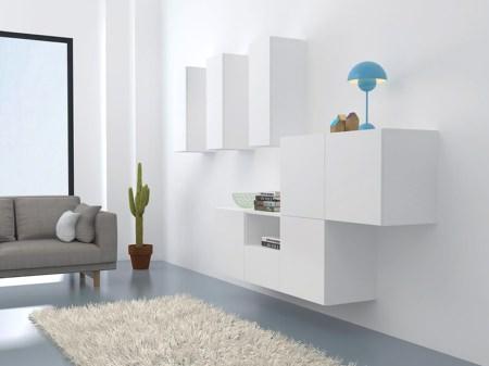 Billede af Collect hvidt væg modulsæt