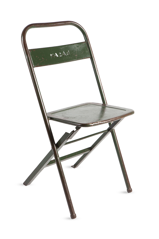 RGE Mash klapstol - grøn metal