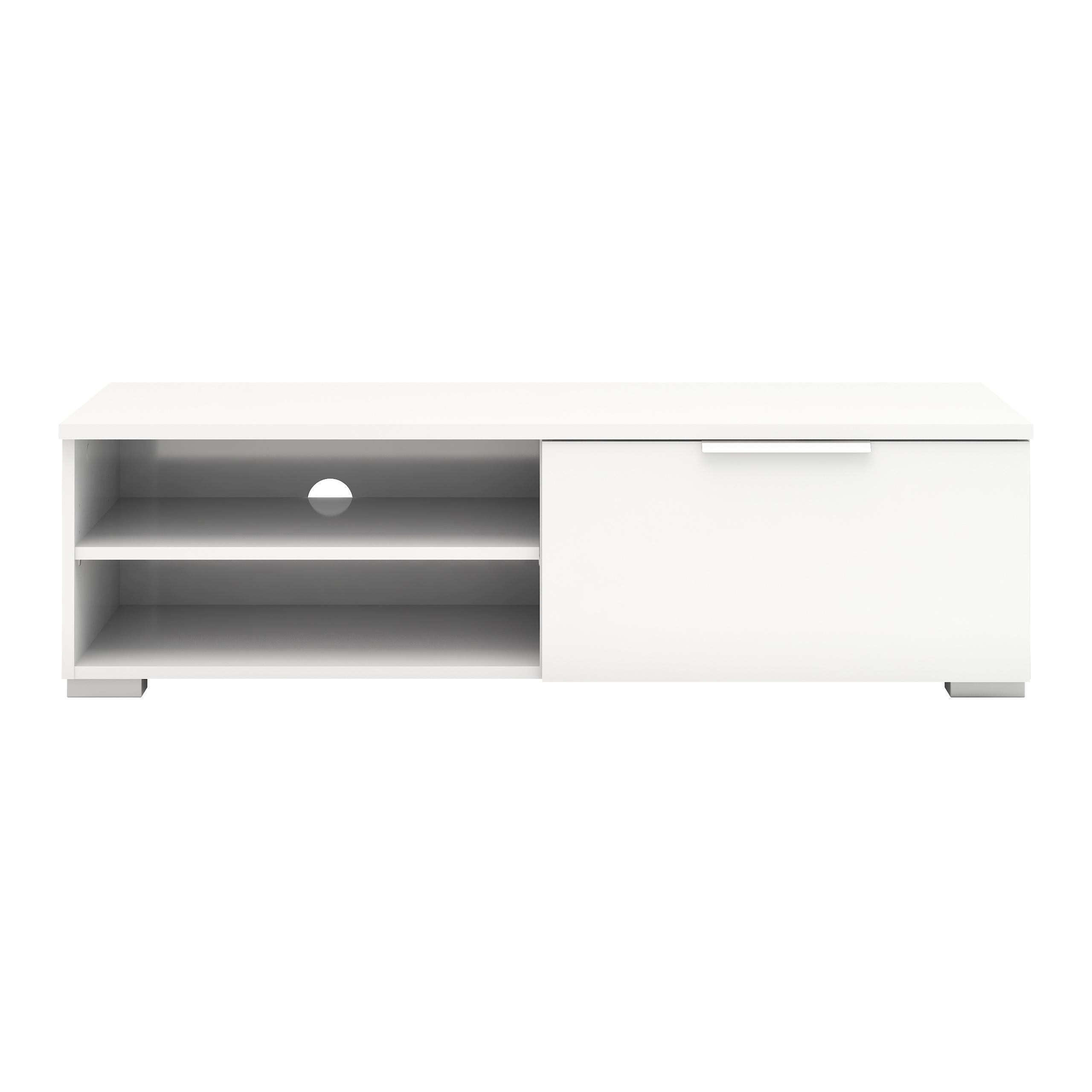 Image of   Match Tv-møbel - Hvid højglans