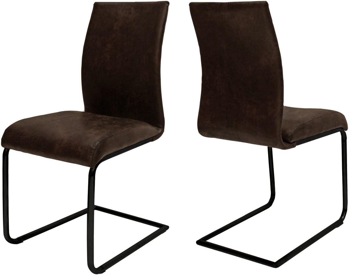 Canett clipper spisebordsstol - mørkebrun fra canett på boboonline.dk