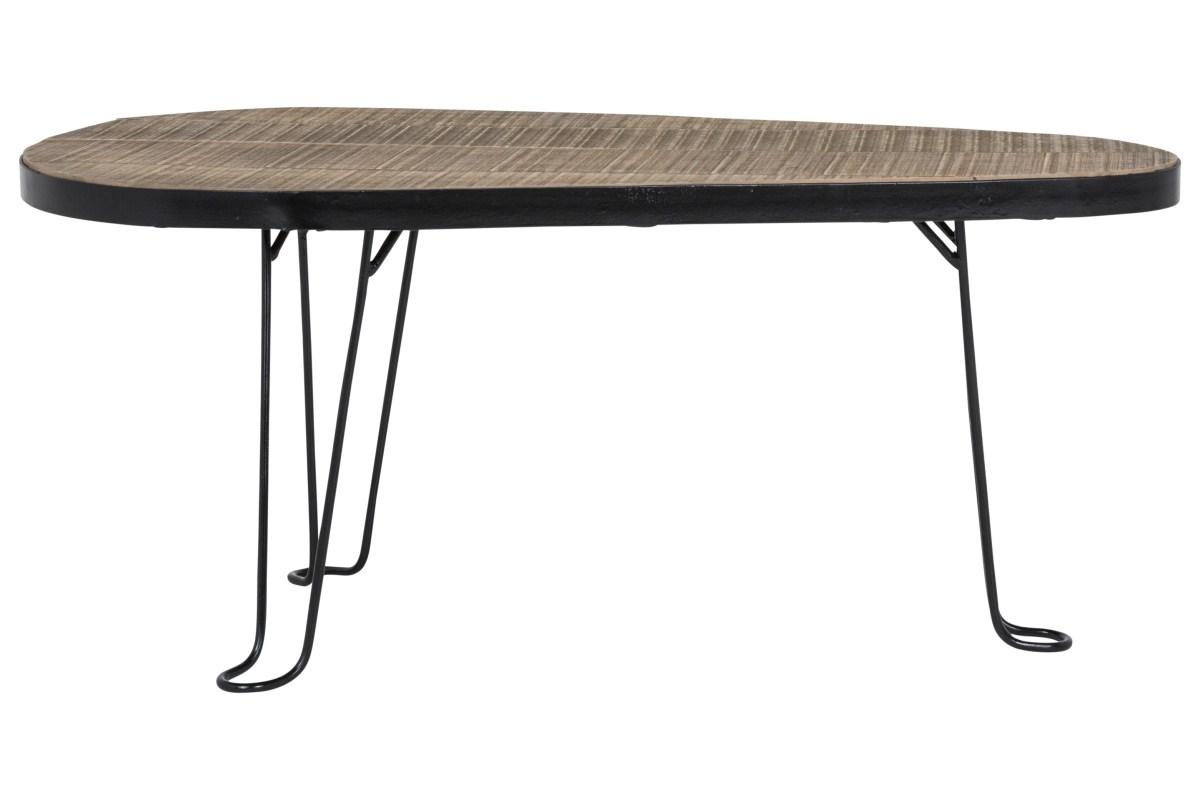Image of   CANETT Blackwood sofabord - Genbrugstræ