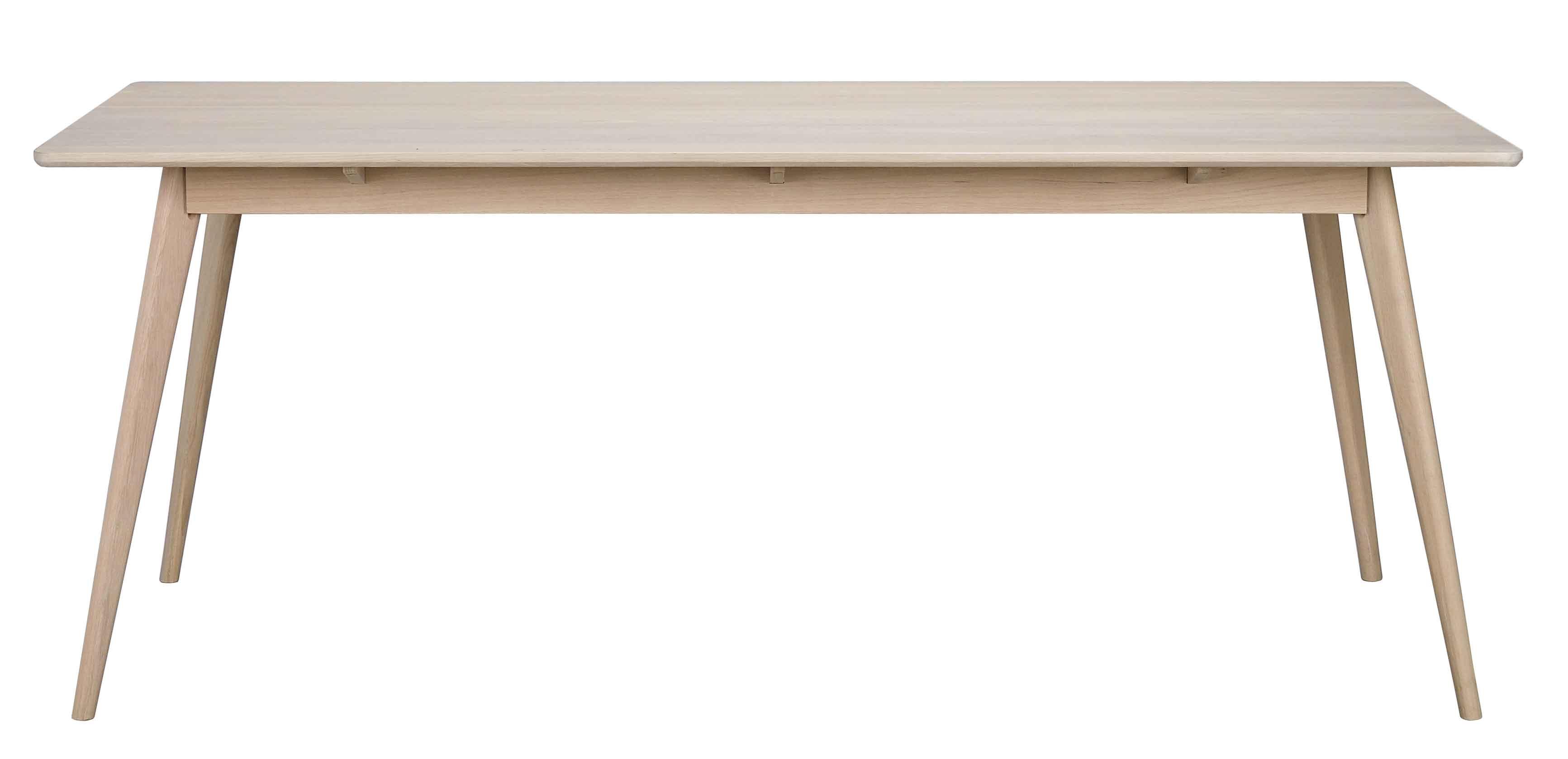 Yumi spisebord - Hvidpigmenteret egetræ, 190x90