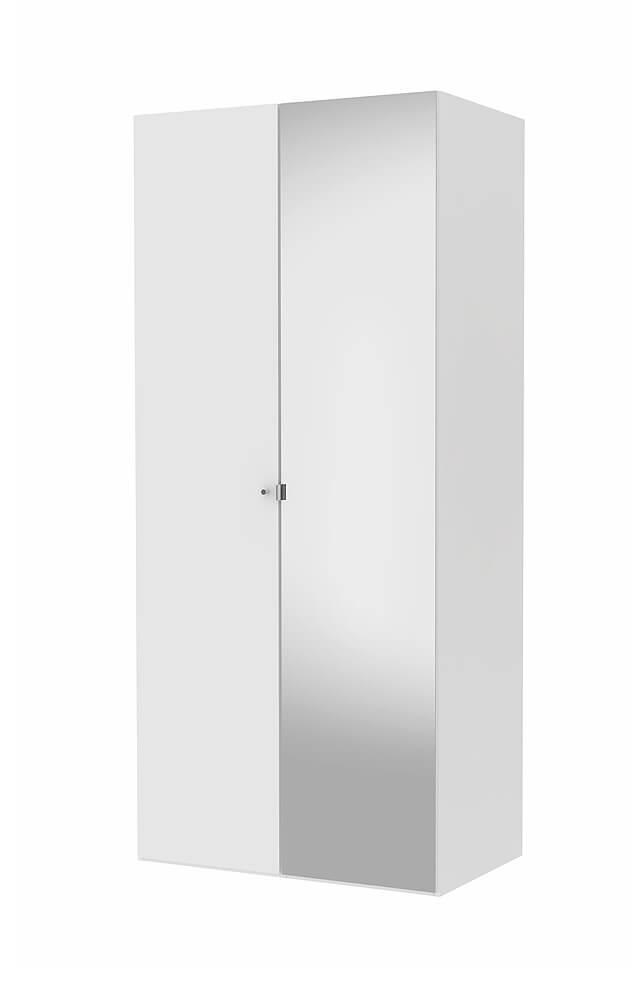 Billede af Save garderobeskab (100 cm) med spejllåge