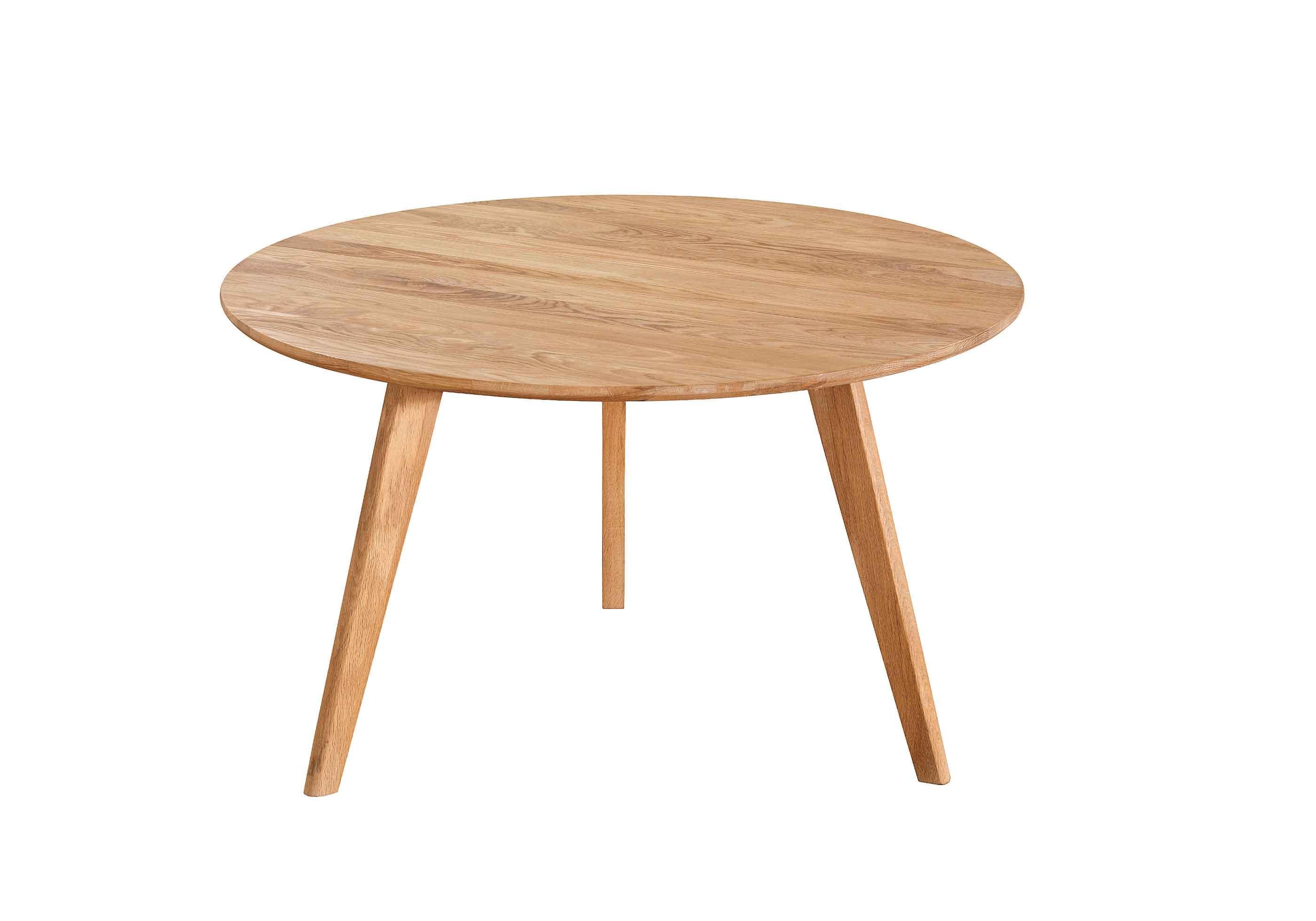 Yumi sofabord - Lakeret asketræ, rundt (Ø:90)