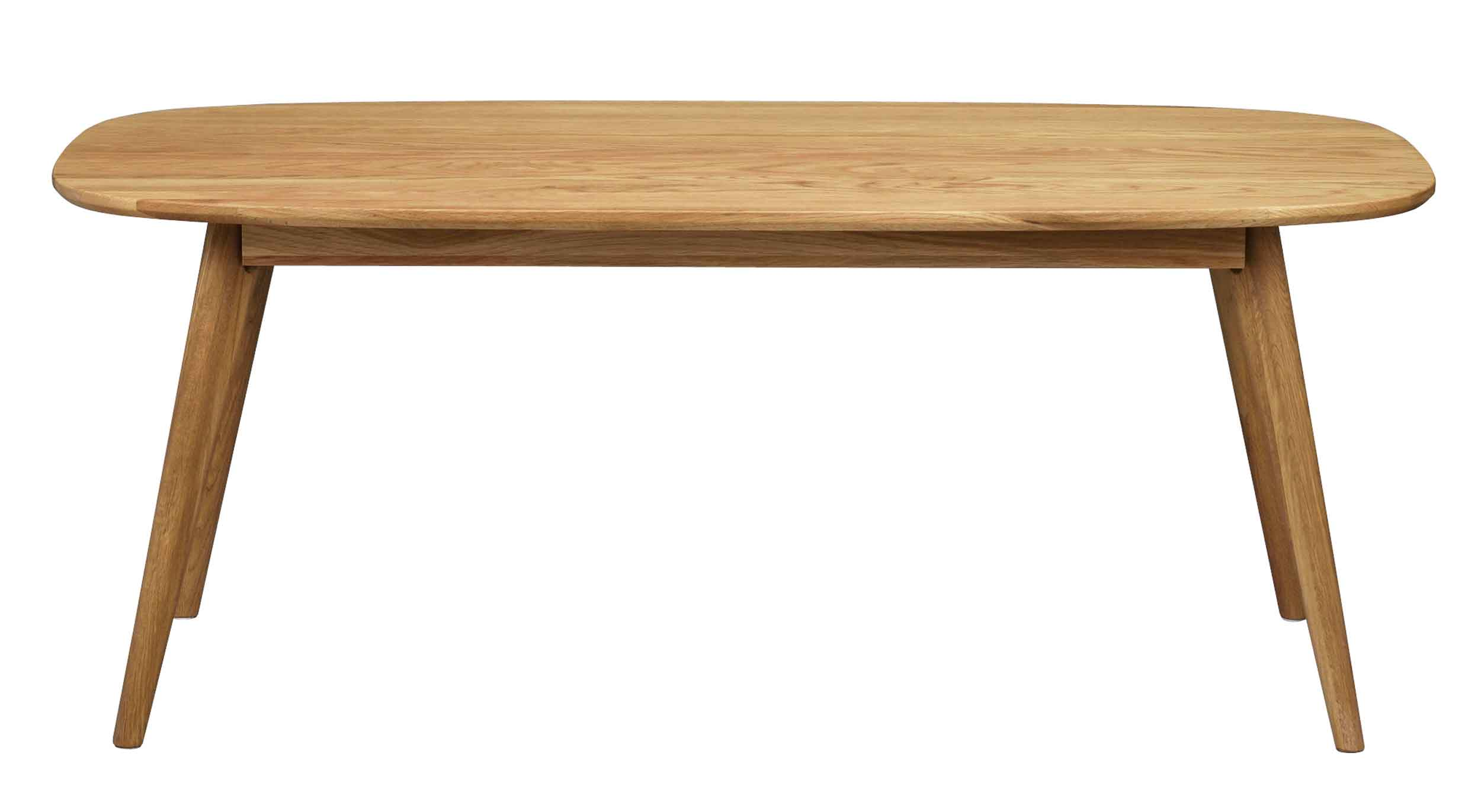 Yumi sofabord - Lakeret egetræ, 125x60
