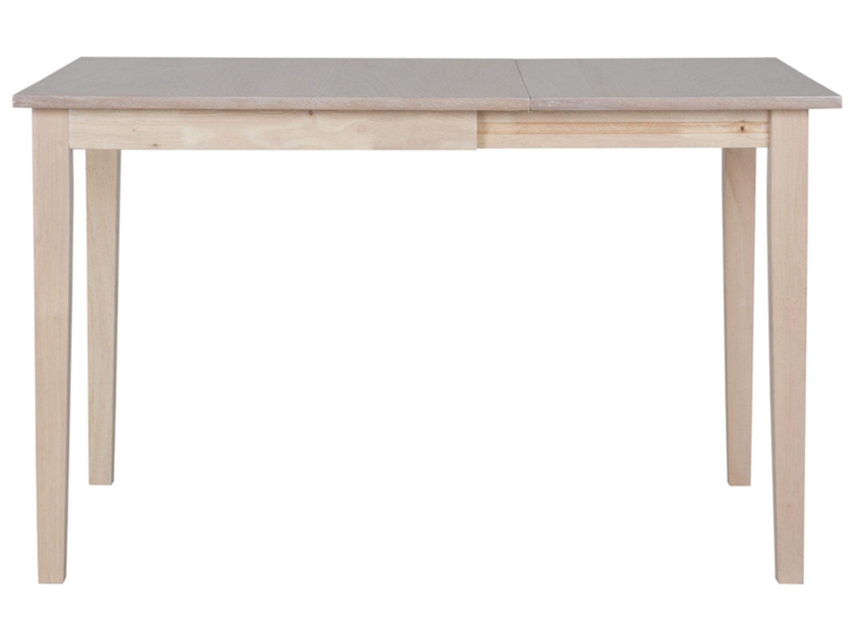 Image of   CANETT Salford spisebord - træ, incl. plade (75x75)